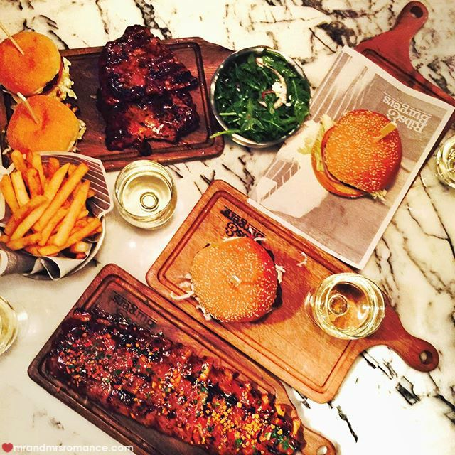 Mr & Mrs Romance - Insta Diary - 4 Ribs n Burgers