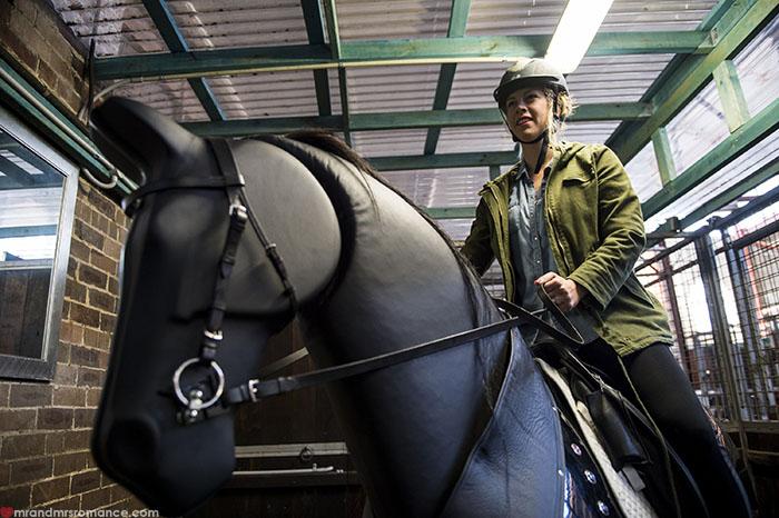 Mr & Mrs Romance - Longest Ride - mechanical horse