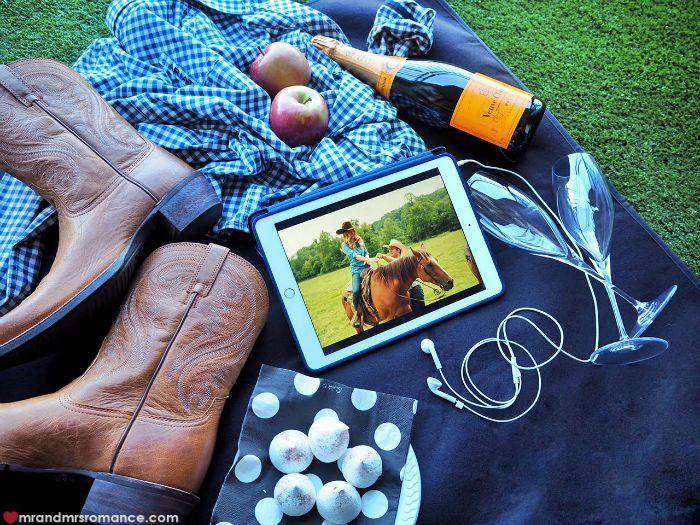 Mr & Mrs Romance - Longest Ride - picnic spread