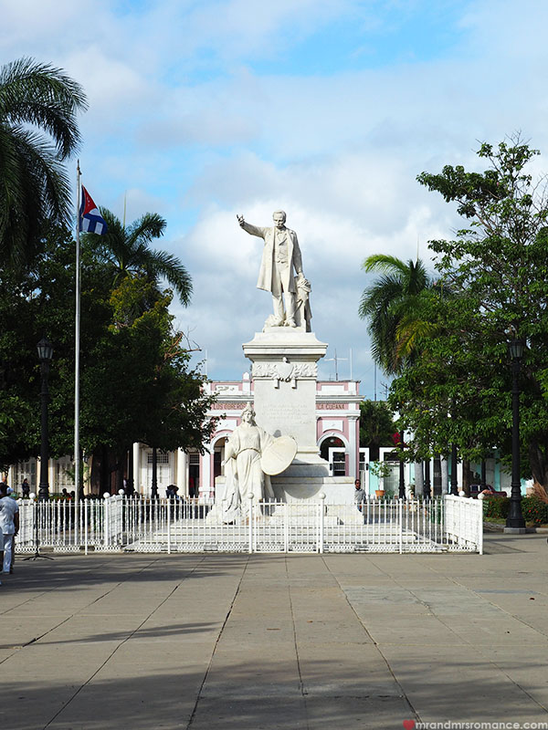 Mr & Mrs Romance - where to go in Cuba - Cienfuegos monuments
