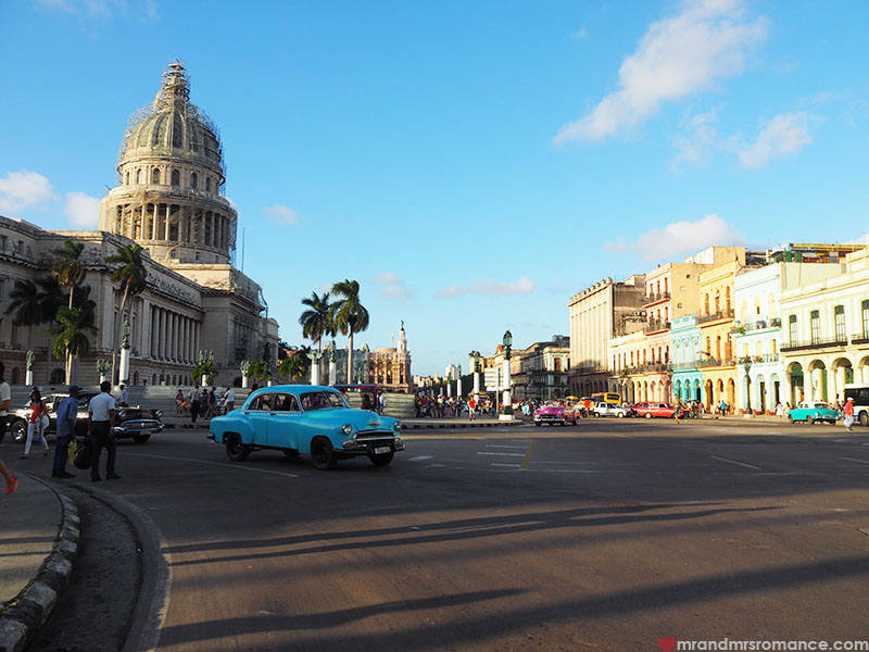 Mr & Mrs Romance - where to go in Cuba - the capitol Havana
