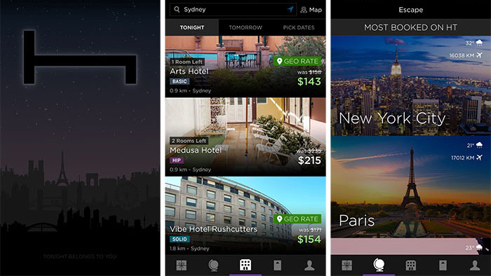 Best travel apps - Hotel Tonight hotel booking app