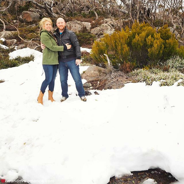 Mr & Mrs Romance - Insta Diary - 13 Mt Wellington, Hobart