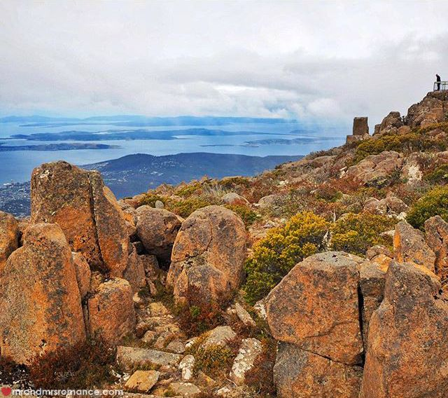 Mr & Mrs Romance - Insta Diary - 14 Mt Wellington lookout