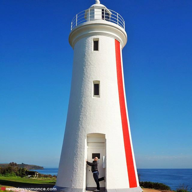 Mr & Mrs Romance - Insta Diary - 5 Devonport lighthouse