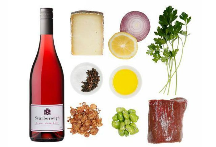 Mr & Mrs Romance - at home at the cellar door - 4 food pairings