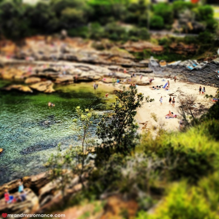 Mr & Mrs Romance - 3 Sydney beaches - 2 Gordons Bay