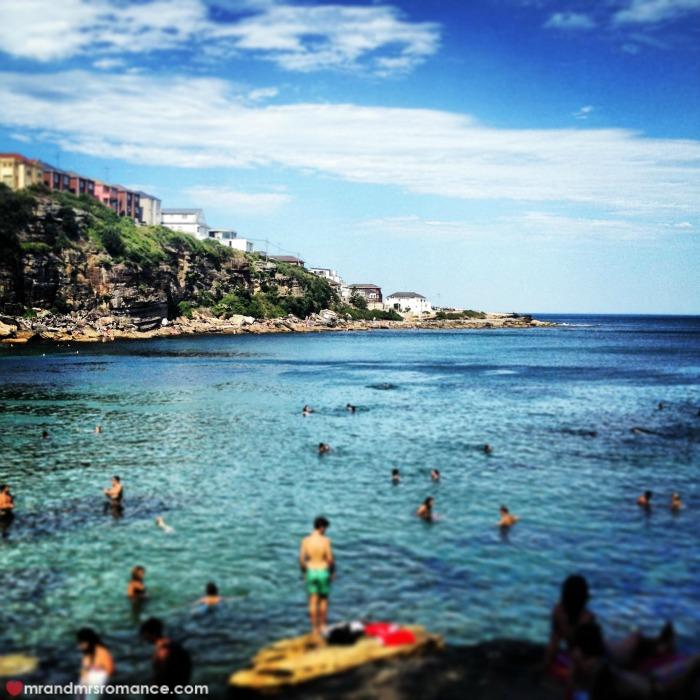 Mr & Mrs Romance - 3 Sydney beaches - 3 Gordons Bay