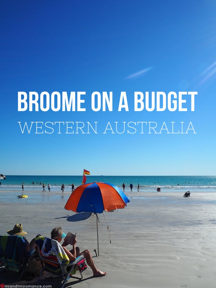 Mr & Mrs Romance - Broome on budget - 1 title pic