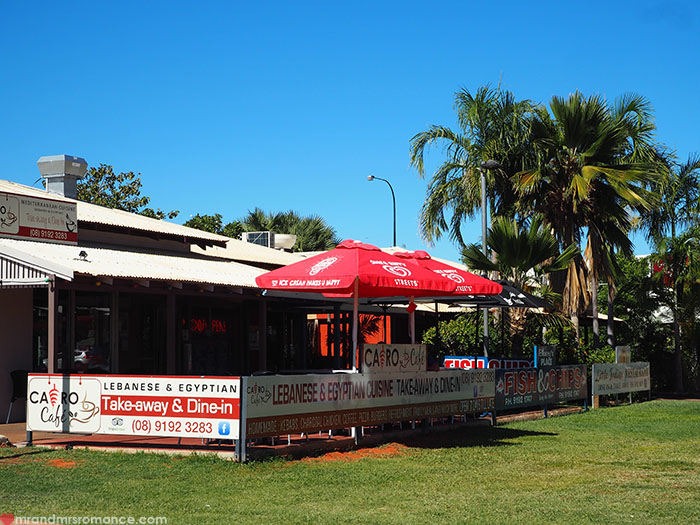 Mr & Mrs Romance - Broome on a Budget - kebab place