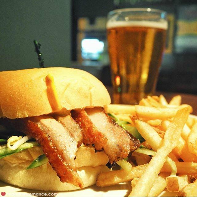 Mr & Mrs Romance - Insta Diary - 2 burger night