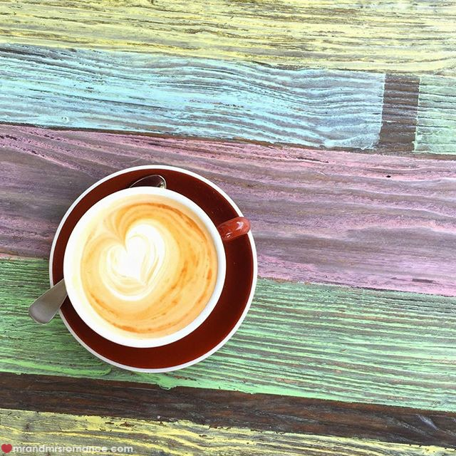 Mr & Mrs Romance - Insta Diary - 4 coffee at Euforia