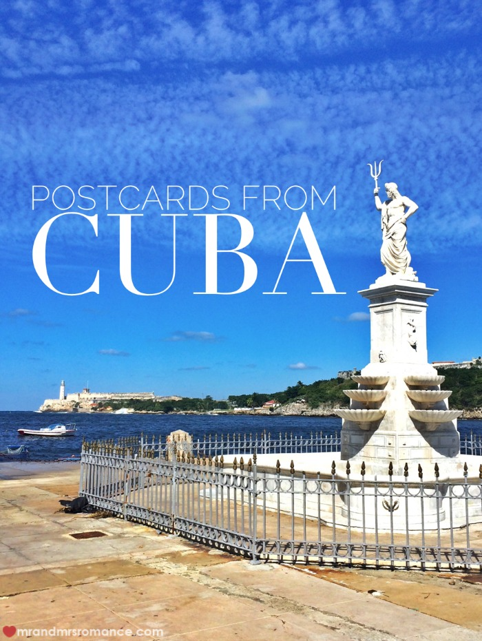Mr & Mrs Romance - Postacards from Cuba - Title