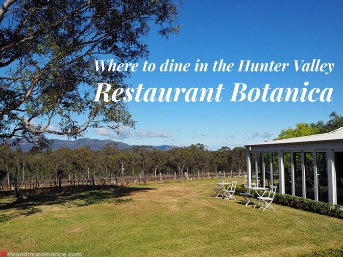 Mr & Mrs Romance - Restaurant Botanica - 1 title