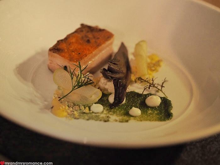Mr & Mrs Romance - Restaurant Botanica - pork belly