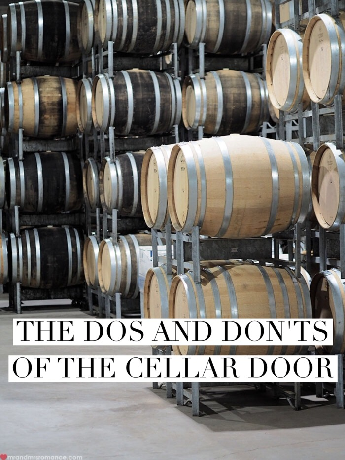 Mr & Mrs Romance - cellar door dos & donts - 1 title