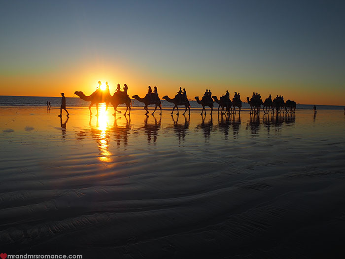 Mr & Mrs Romance - Broome WA in style - Camels on Cable Beach