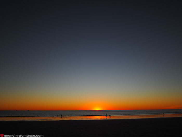 Mr & Mrs Romance - Broome WA in style - sunset