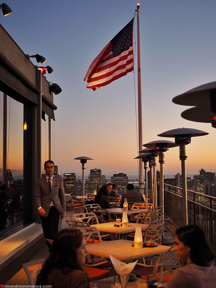 Mr and Mrs Romance - San Diego rooftop bars you must visit