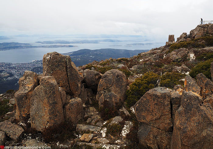 Mr & Mrs Romance - Spirit of Tasmania - Mount Wellington