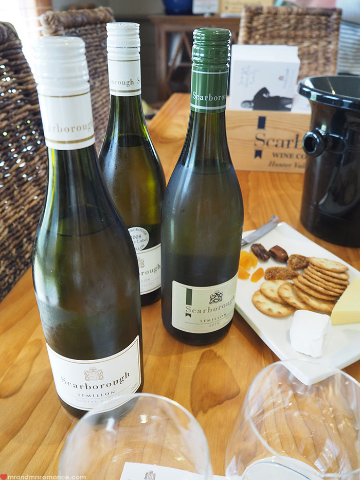 Mr & Mrs Romance - cellar door dos & donts - Scarborough wines