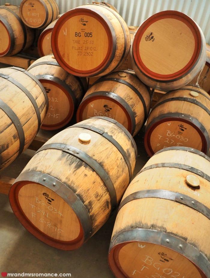 Mr & Mrs Romance - Black Gate - barrels