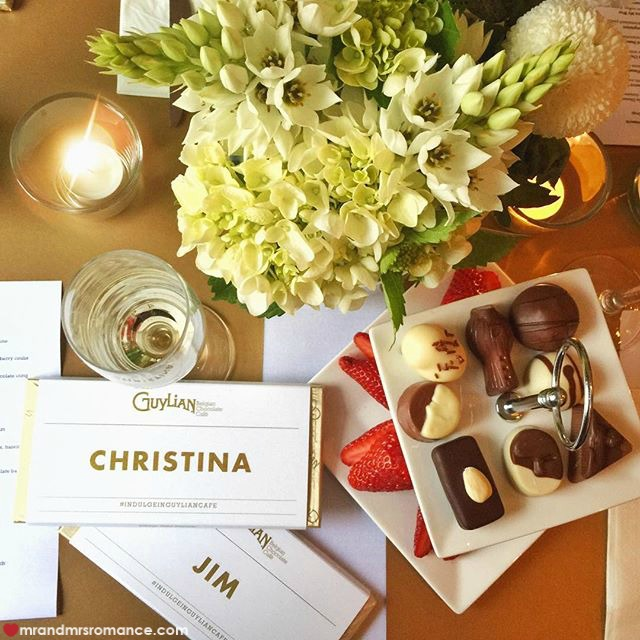 Mr & Mrs Romance - Insta Diary - 2 Guylian Cafe