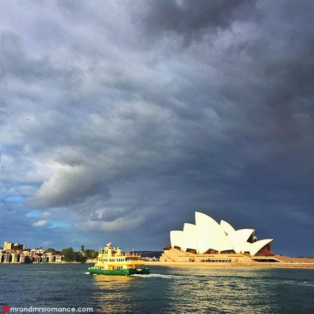 Mr & Mrs Romance - Insta Diary - 3 Sydney clouds