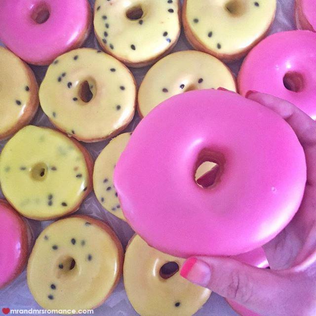 Mr & Mrs Romance - Insta Diary - 5 doughnuts