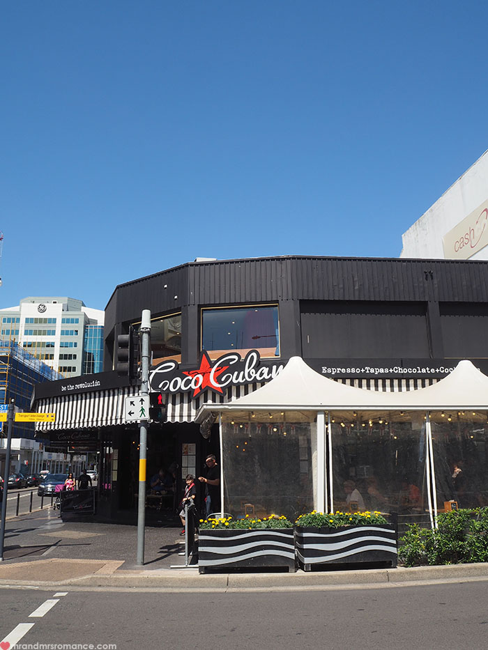 Mr and Mrs Romance - Go West - Where to eat in Parramatta restaurants