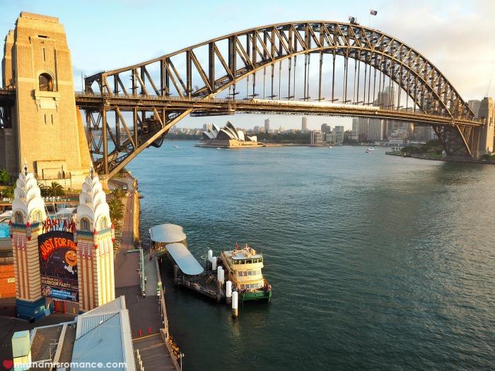 Mr & Mrs Romance - Ferris wheel dining - Harbour Bridge