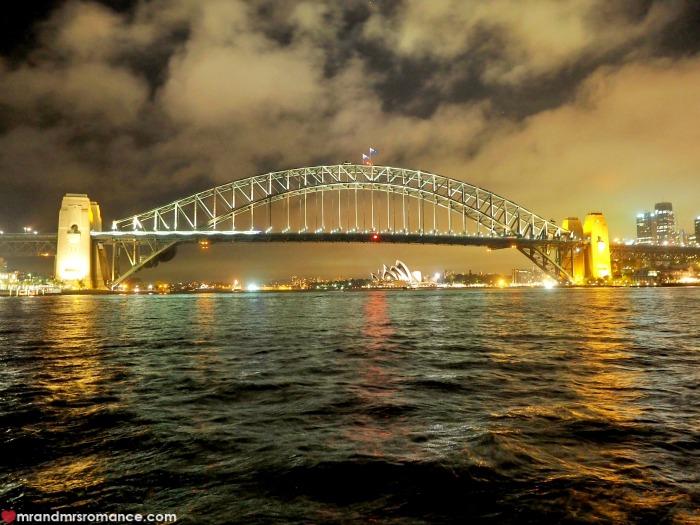 Mr & Mrs Romance - Ferris wheel dining - Harbour Bridge long