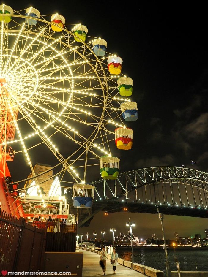 Mr & Mrs Romance - Ferris wheel dining - Ferris at night