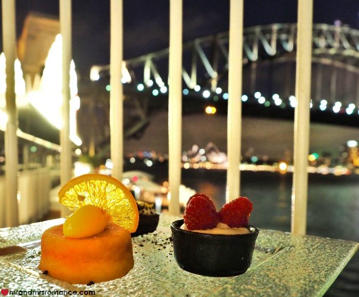 Mr & Mrs Romance - Ferris wheel dining - dessert and Bridge