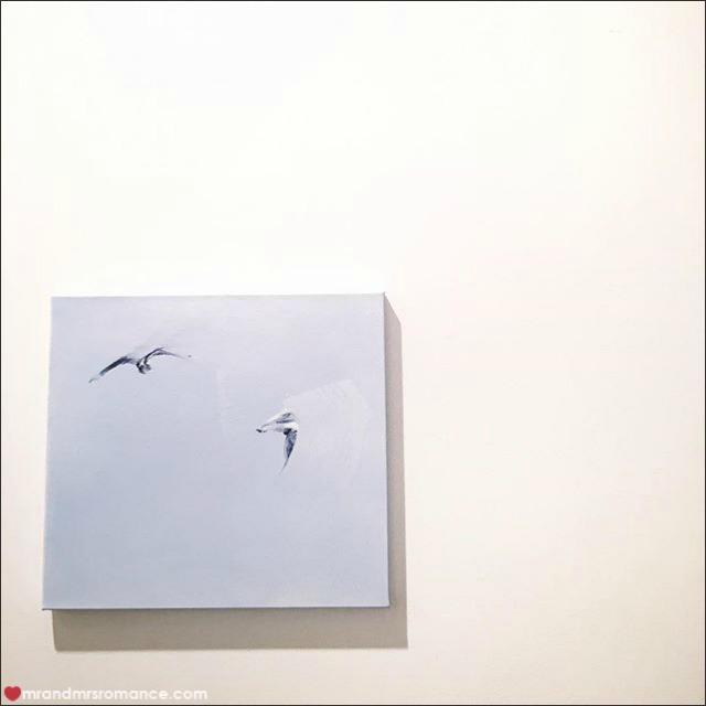Mr & Mrs Romance - Insta Diary - 4a Mrs R at Matthew Kentmann's exhibition
