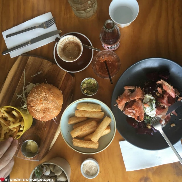 Mr & Mrs Romance - Insta Diary - 4b lunch at Enzo