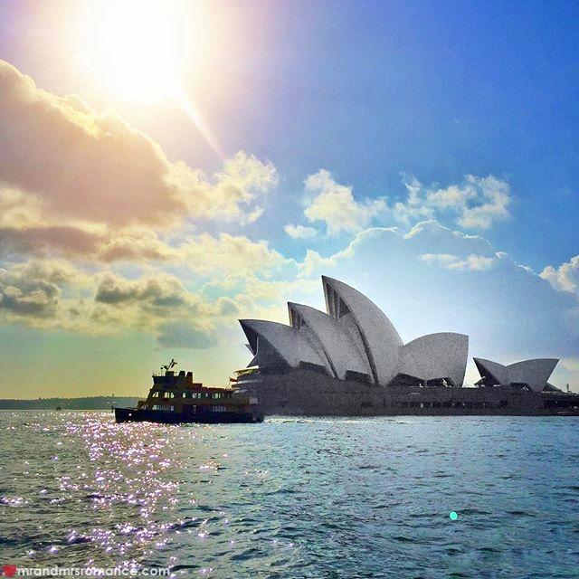Mr & Mrs Romance - Insta Diary - 5 Sydney Harbour