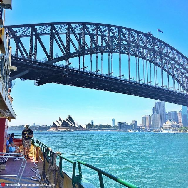 Mr & Mrs Romance - Insta Diary - 8 ferry ride home
