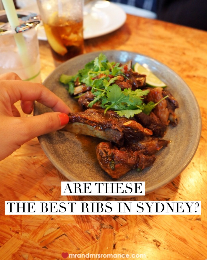 Mr & Mrs Romance - best ribs in Sydney - title