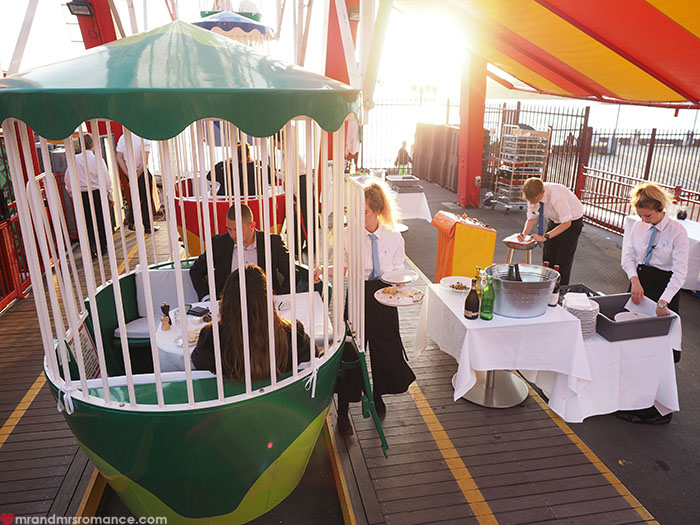 Mr and Mrs Romance - Luna Park Ferris Wheel Dining