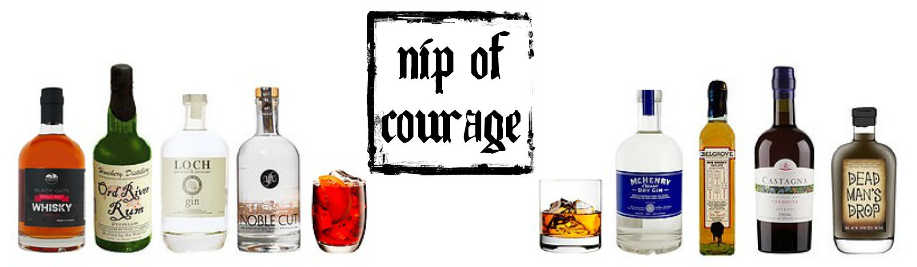 Mr & Mrs Romance - Foodie Finds - Nip of Courage