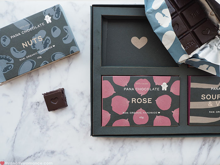 Mr & Mrs Romance - Foodie Finds - Pana Chocolate