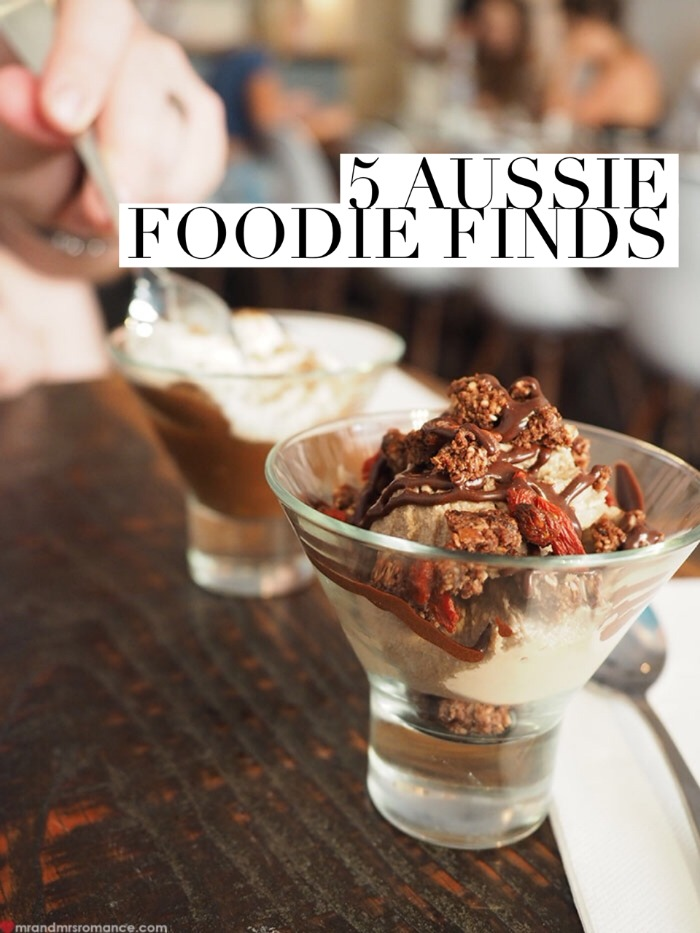 Mr & Mrs Romance - Foodie Finds - title
