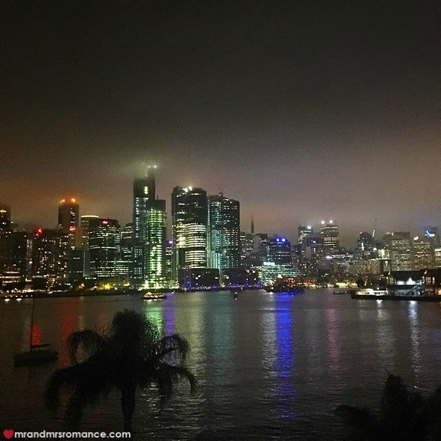 Mr & Mrs Romance - Insta Diary - 4 foggy Sydney night 2