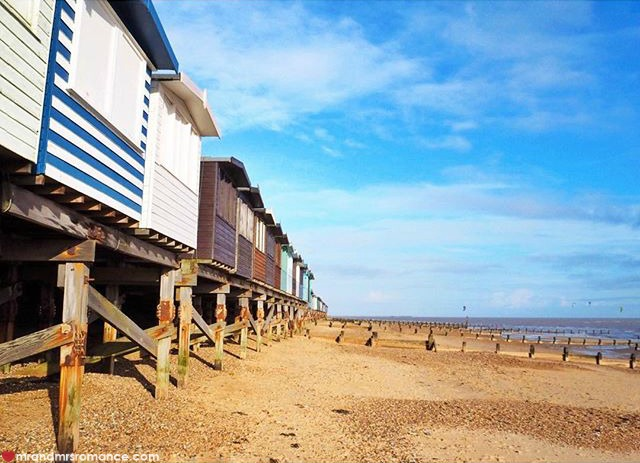 Mr & Mrs Romance - Insta Diary - 6 beach huts on England's beaches