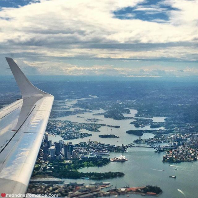 Mr & Mrs Romance - Insta Diary - 7 leaving Sydney