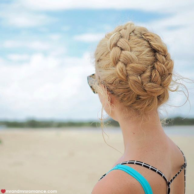 Mr & Mrs Romance - Insta Diary - 8a HR1 braids on the beach