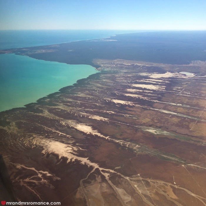 How to take photos from a plane window - Mr & Mrs Romance - Western Australia