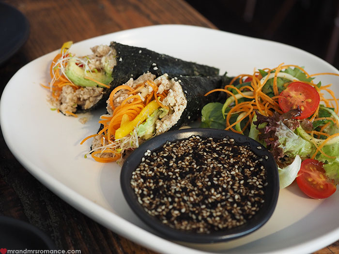 Mr & Mrs Romance - Foodie Finds - The Plant Gallery sushi