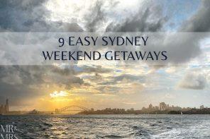 9 easy Sydney weekend getaways for a romantic escape